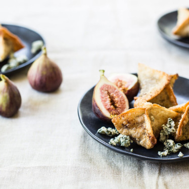 Buttermilk Blue®, Fig and Port Wontons