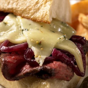 Steak Sandwich with Horseradish Havarti