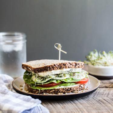 Veggie Lovers Havarti Sandwich