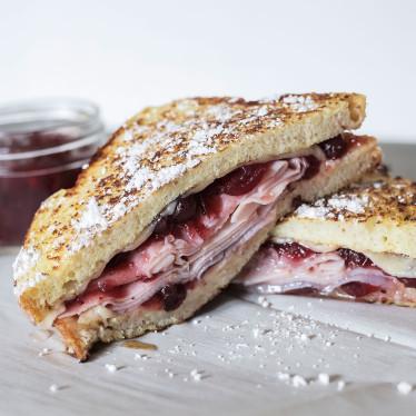 Ham & Cran Monte Cristo