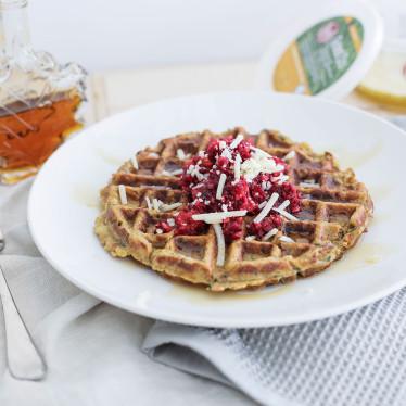 Savory Herbed Waffles