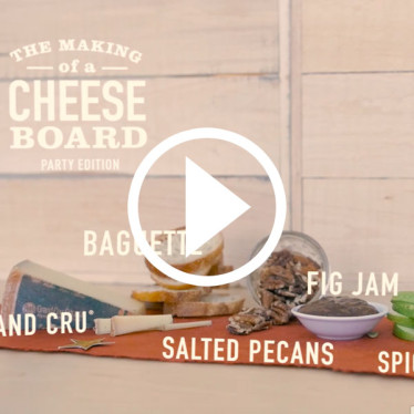 A Glam Party Cheese Board